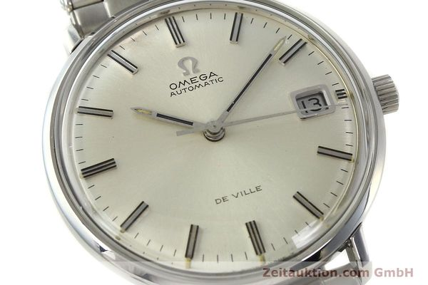 Used luxury watch Omega De Ville steel automatic Kal. 565 Ref. 166.033 VINTAGE  | 150115 02