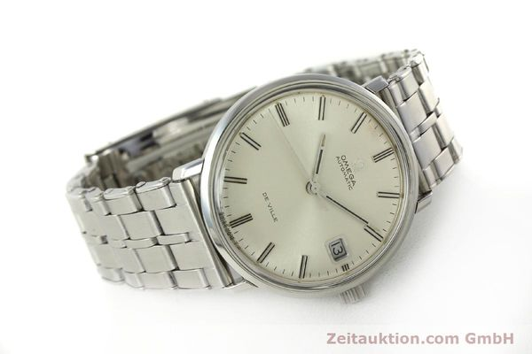 Used luxury watch Omega De Ville steel automatic Kal. 565 Ref. 166.033 VINTAGE  | 150115 03