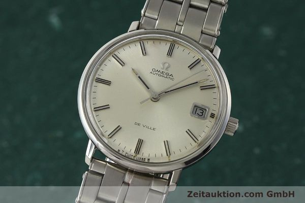 Used luxury watch Omega De Ville steel automatic Kal. 565 Ref. 166.033 VINTAGE  | 150115 04