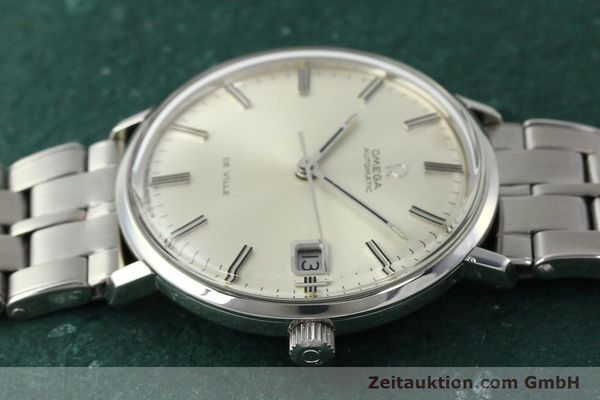 Used luxury watch Omega De Ville steel automatic Kal. 565 Ref. 166.033 VINTAGE  | 150115 05