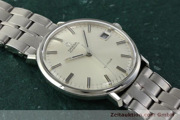 Used luxury watch Omega De Ville steel automatic Kal. 565 Ref. 166.033 VINTAGE  | 150115 14