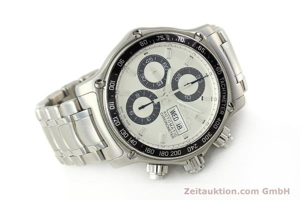 Used luxury watch Ebel 1911 chronograph steel automatic Kal. E750 Ref. 9750L62  | 150116 03