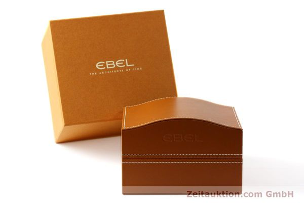Used luxury watch Ebel 1911 chronograph steel automatic Kal. E750 Ref. 9750L62  | 150116 06