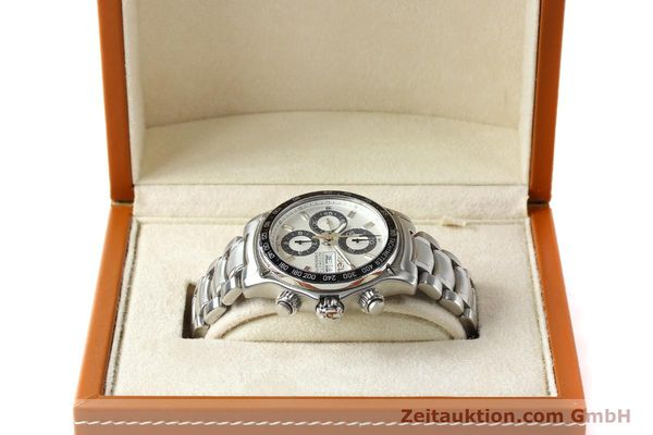 Used luxury watch Ebel 1911 chronograph steel automatic Kal. E750 Ref. 9750L62  | 150116 07