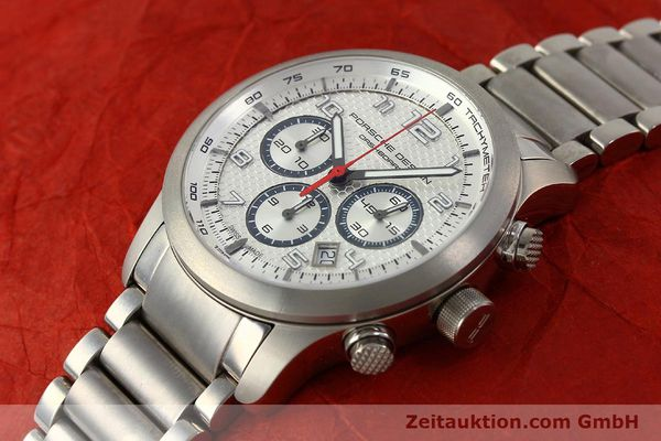 Used luxury watch Porsche Design Dashbord chronograph titanium automatic Kal. ETA 2892-2 Ref. 6612.11/3  | 150119 01