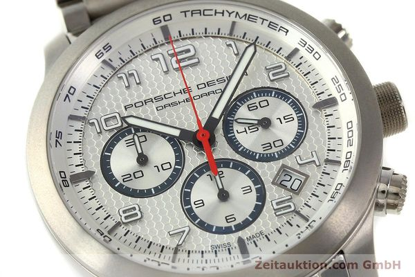 Used luxury watch Porsche Design Dashbord chronograph titanium automatic Kal. ETA 2892-2 Ref. 6612.11/3  | 150119 02