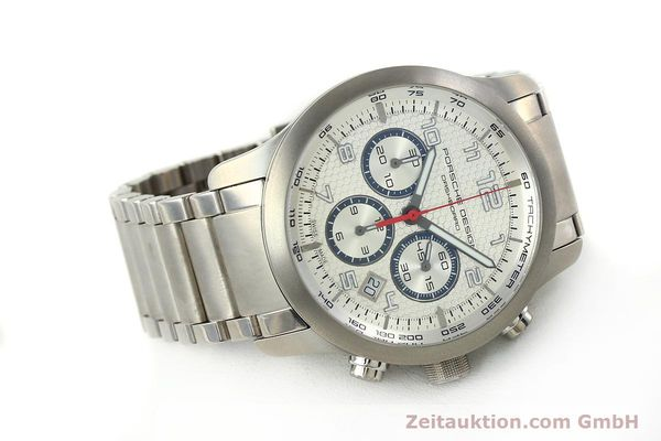 Used luxury watch Porsche Design Dashbord chronograph titanium automatic Kal. ETA 2892-2 Ref. 6612.11/3  | 150119 03