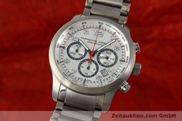 Used luxury watch Porsche Design Dashbord chronograph titanium automatic Kal. ETA 2892-2 Ref. 6612.11/3  | 150119 04