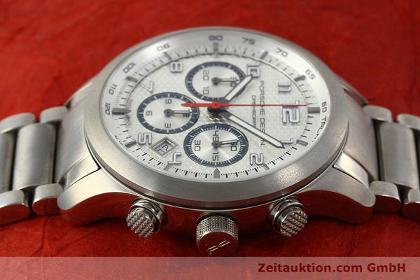Used luxury watch Porsche Design Dashbord chronograph titanium automatic Kal. ETA 2892-2 Ref. 6612.11/3  | 150119 05
