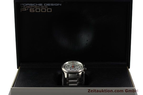 Used luxury watch Porsche Design Dashbord chronograph titanium automatic Kal. ETA 2892-2 Ref. 6612.11/3  | 150119 07