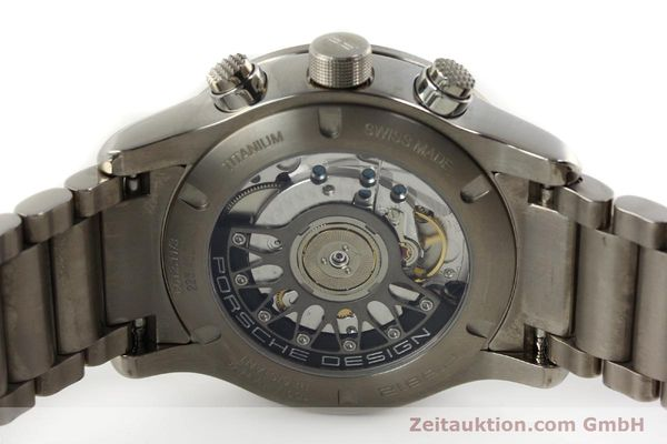Used luxury watch Porsche Design Dashbord chronograph titanium automatic Kal. ETA 2892-2 Ref. 6612.11/3  | 150119 09