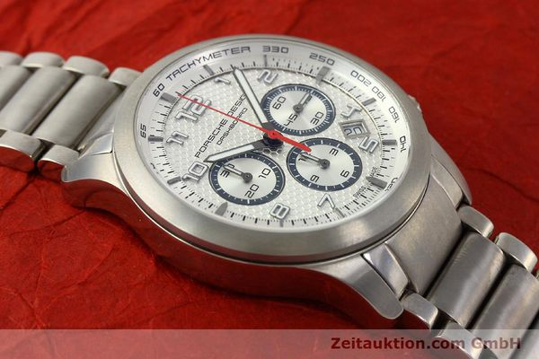 Used luxury watch Porsche Design Dashbord chronograph titanium automatic Kal. ETA 2892-2 Ref. 6612.11/3  | 150119 15