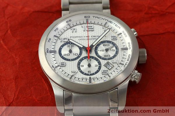Used luxury watch Porsche Design Dashbord chronograph titanium automatic Kal. ETA 2892-2 Ref. 6612.11/3  | 150119 16