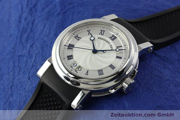 Used luxury watch Breguet Marine steel automatic Kal. 517GG Ref. 5817  | 150122 01