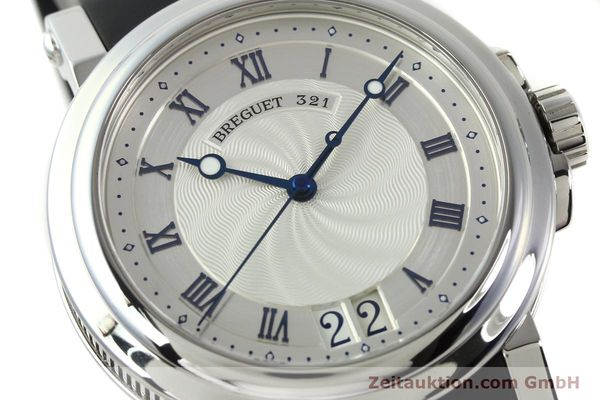 Used luxury watch Breguet Marine steel automatic Kal. 517GG Ref. 5817  | 150122 02