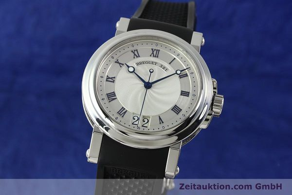 Used luxury watch Breguet Marine steel automatic Kal. 517GG Ref. 5817  | 150122 04