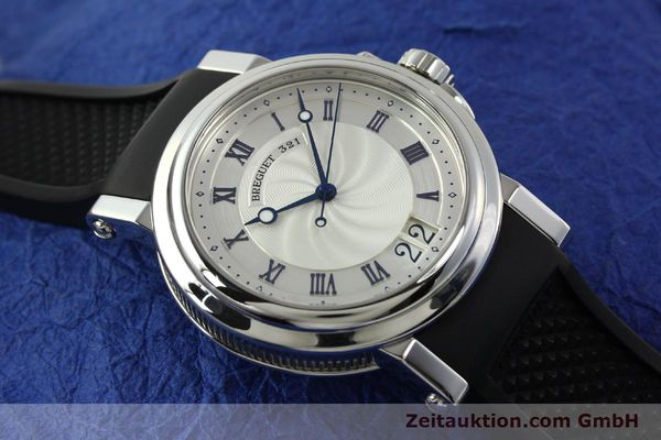 Used luxury watch Breguet Marine steel automatic Kal. 517GG Ref. 5817  | 150122 15