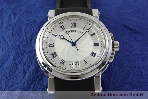 Used luxury watch Breguet Marine steel automatic Kal. 517GG Ref. 5817  | 150122 16