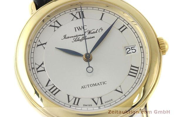 Used luxury watch IWC Portofino 18 ct gold automatic Kal. 889/1 Ref. 3209  | 150130 02