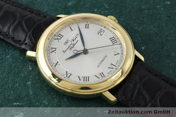 Used luxury watch IWC Portofino 18 ct gold automatic Kal. 889/1 Ref. 3209  | 150130 13