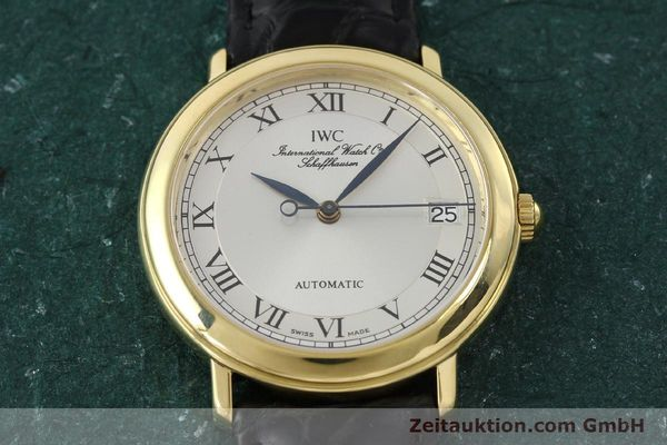Used luxury watch IWC Portofino 18 ct gold automatic Kal. 889/1 Ref. 3209  | 150130 14