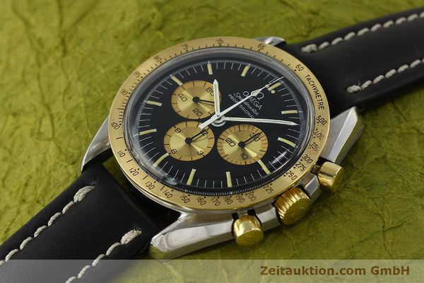 Used luxury watch Omega Speedmaster chronograph steel / gold manual winding Kal. 861 Ref. ST145022 LIMITED EDITION | 150136 01