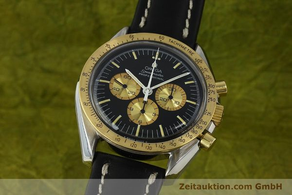 Used luxury watch Omega Speedmaster chronograph steel / gold manual winding Kal. 861 Ref. ST145022 LIMITED EDITION | 150136 04