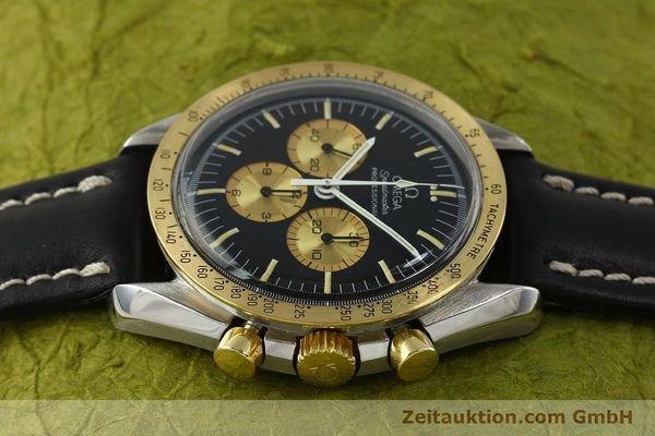 Used luxury watch Omega Speedmaster chronograph steel / gold manual winding Kal. 861 Ref. ST145022 LIMITED EDITION | 150136 05