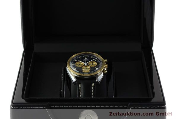 Used luxury watch Omega Speedmaster chronograph steel / gold manual winding Kal. 861 Ref. ST145022 LIMITED EDITION | 150136 07