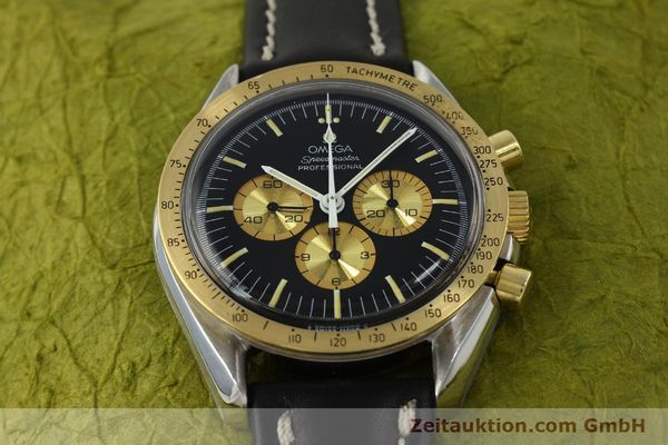 Used luxury watch Omega Speedmaster chronograph steel / gold manual winding Kal. 861 Ref. ST145022 LIMITED EDITION | 150136 15