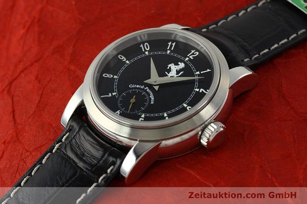 Used luxury watch Girard Perregaux Ferrari steel automatic Kal. 2201-060B Ref. 8030  | 150137 01