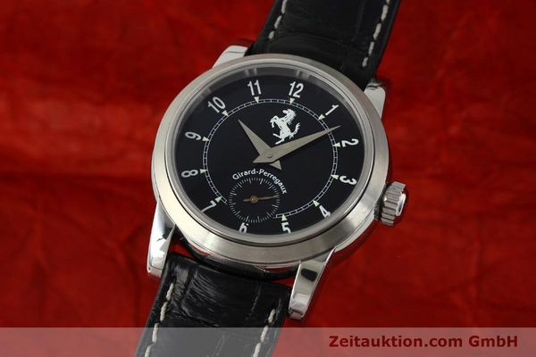 Used luxury watch Girard Perregaux Ferrari steel automatic Kal. 2201-060B Ref. 8030  | 150137 04