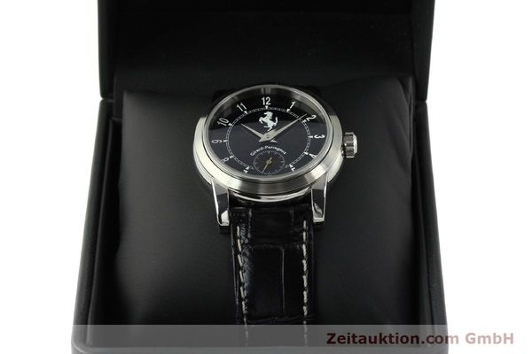 Used luxury watch Girard Perregaux Ferrari steel automatic Kal. 2201-060B Ref. 8030  | 150137 07