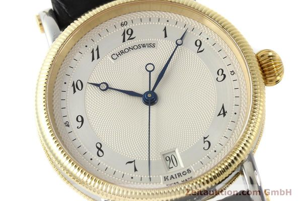 Used luxury watch Chronoswiss Kairos steel / gold automatic Kal. ETA 2892A2 Ref. CH2822M  | 150141 02