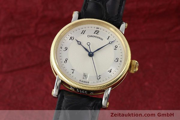 Used luxury watch Chronoswiss Kairos steel / gold automatic Kal. ETA 2892A2 Ref. CH2822M  | 150141 04