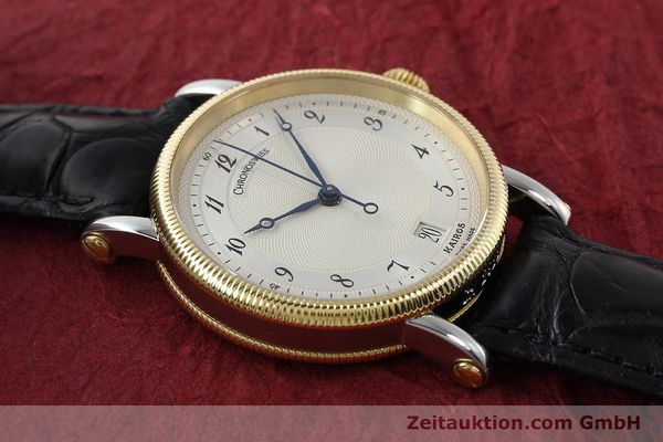 Used luxury watch Chronoswiss Kairos steel / gold automatic Kal. ETA 2892A2 Ref. CH2822M  | 150141 13