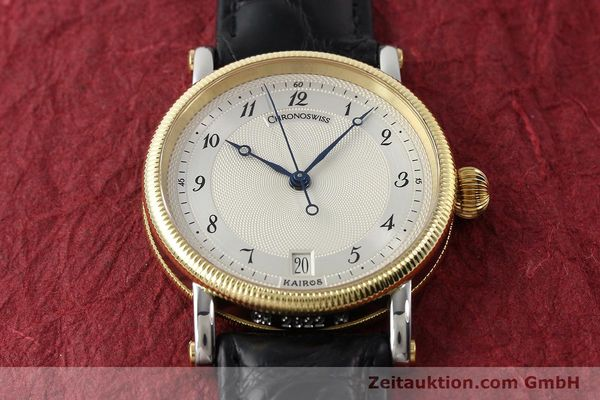 Used luxury watch Chronoswiss Kairos steel / gold automatic Kal. ETA 2892A2 Ref. CH2822M  | 150141 14