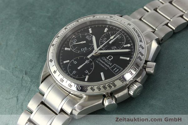 Used luxury watch Omega Speedmaster chronograph steel automatic Kal. 1152 Ref. 3513500  | 150142 01