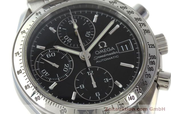 Used luxury watch Omega Speedmaster chronograph steel automatic Kal. 1152 Ref. 3513500  | 150142 02