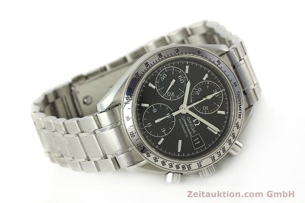 Used luxury watch Omega Speedmaster chronograph steel automatic Kal. 1152 Ref. 3513500  | 150142 03