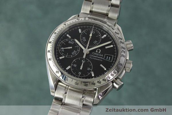 Used luxury watch Omega Speedmaster chronograph steel automatic Kal. 1152 Ref. 3513500  | 150142 04