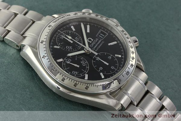 Used luxury watch Omega Speedmaster chronograph steel automatic Kal. 1152 Ref. 3513500  | 150142 16