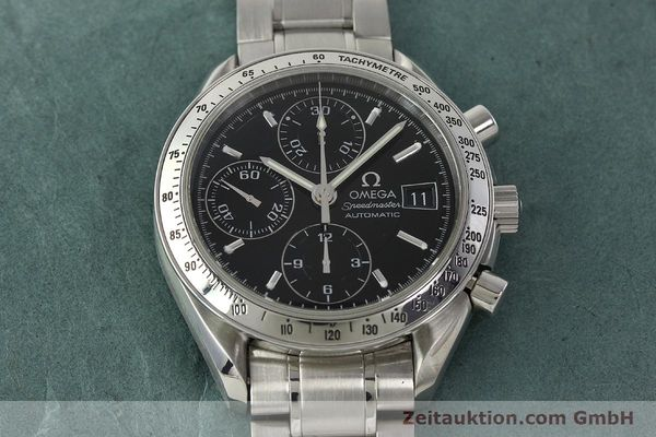 Used luxury watch Omega Speedmaster chronograph steel automatic Kal. 1152 Ref. 3513500  | 150142 17