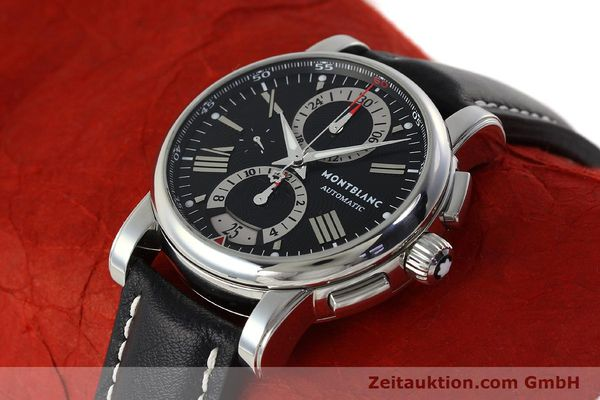 Used luxury watch Montblanc Star 4810 Chronograph chronograph steel automatic Kal. 4810501 ETA 7750 Ref. 7104  | 150143 01