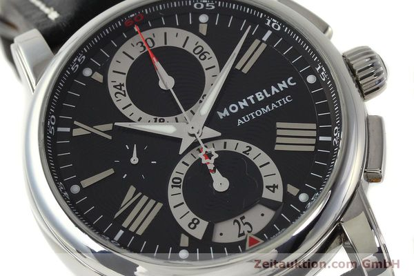 Used luxury watch Montblanc Star 4810 Chronograph chronograph steel automatic Kal. 4810501 ETA 7750 Ref. 7104  | 150143 02
