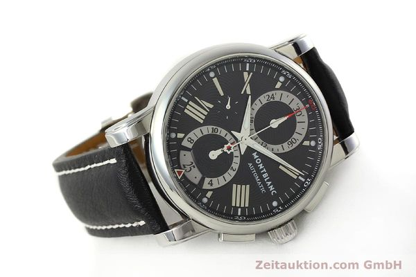 Used luxury watch Montblanc Star 4810 Chronograph chronograph steel automatic Kal. 4810501 ETA 7750 Ref. 7104  | 150143 03