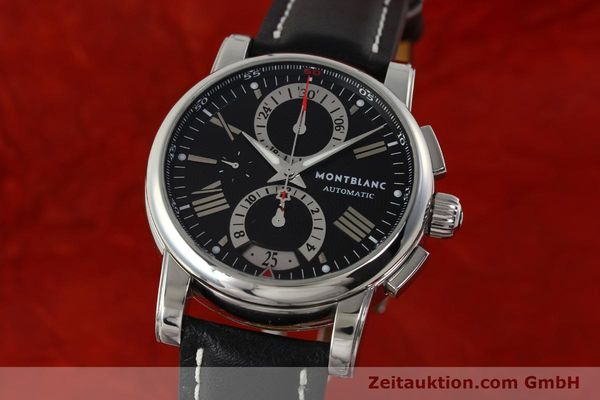 Used luxury watch Montblanc Star 4810 Chronograph chronograph steel automatic Kal. 4810501 ETA 7750 Ref. 7104  | 150143 04