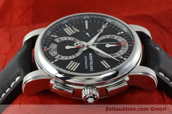 Used luxury watch Montblanc Star 4810 Chronograph chronograph steel automatic Kal. 4810501 ETA 7750 Ref. 7104  | 150143 05