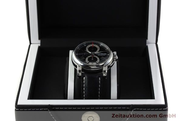 Used luxury watch Montblanc Star 4810 Chronograph chronograph steel automatic Kal. 4810501 ETA 7750 Ref. 7104  | 150143 07