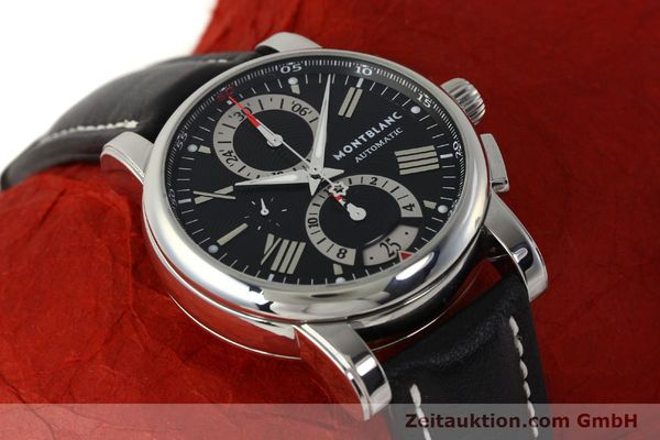 Used luxury watch Montblanc Star 4810 Chronograph chronograph steel automatic Kal. 4810501 ETA 7750 Ref. 7104  | 150143 13